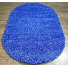 Ковер Merinos Shaggi Ultra s600 Blue 1,0*2,0 овал
