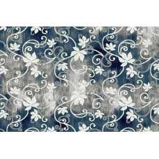Ковер Merinos Silver d218  GRAY-BLUE 0,80*1,50