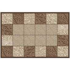 Ковер Merinos Mega Carving  8320 brown 1,0*2,0 м