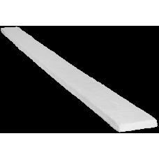 Доска рустик фасадная 140*20мм Белая, длина 2м