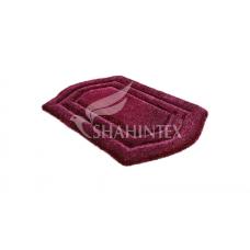 Коврик д/в Shahintex Рremium 60*100 бордовый 45