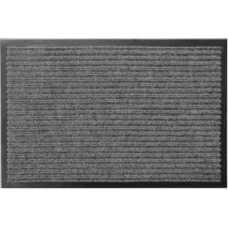 Коврик придверный грязезащитный серый 80х120