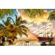 Остров пиратов H-053, 400х270