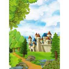 Замок на холме H-054, 200х270