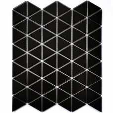 Мозаика керамическая Reno Black matt