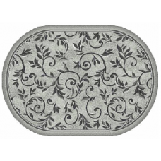 Ковер Merinos Silver d230 Light Gray 1,80*2,50 овал
