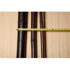 Ствол бамбука черный D 50-60 мм, длина 2900-3000 мм