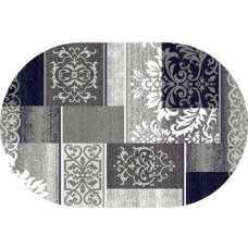 Ковер Merinos Silver d216 Gray 3,00*4,00 овал