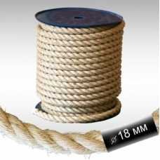 Канат сизалевый D 18 мм, длина 8 м