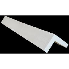 Декоративный уголок модерн 145*145 мм Белая, длина 1м