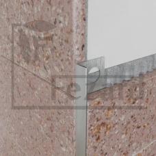 Профиль разделительный для плитки  <<GL>>, 8 мм (3000мм)