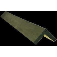Декоративный уголок модерн 145*145 мм Дуб болотный, длина 1м