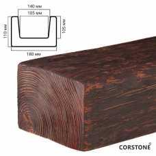 Архитектурный брус 110х180мм Красный сандал, длина 4,0 м