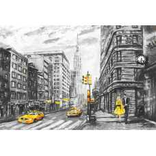 Нью-Йорк живопись H-031, 400х270