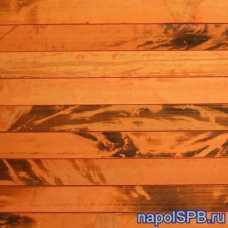 Бамбуковое полотно Дизайн 2,75 м. Золотая черепаха, 17 мм