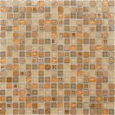 Мозаика стеклянная с камнем Naturelle Cozumel
