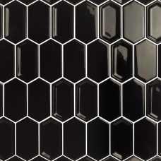 Мозаика керамическая Candylike Crayon Black glos
