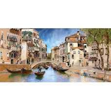 Канал Венеции живопись H-032, 300х147