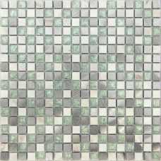 Мозаика стеклянная с камнем Naturelle Everest New