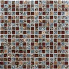 Мозаика стеклянная Naturelle Fiji, 8 мм