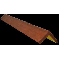 Декоративный уголок модерн 145*145 мм Орех, длина 2м