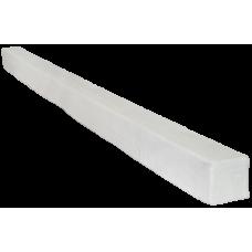 Балка декоративная Arnodecor Модерн 100х100мм Белая, длина 1м