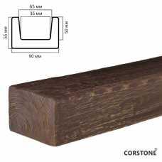 Архитектурный брус 55х90мм Африканский палисандр, длина 4,0 м