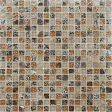 Мозаика стеклянная с камнем Naturelle Klondike