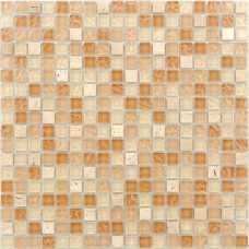 Мозаика стеклянная с камнем Naturelle Olbia
