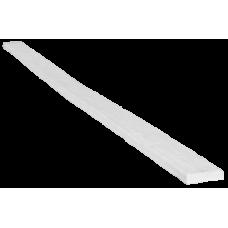 Доска рустик фасадная 90х20мм Белая, длина 2м