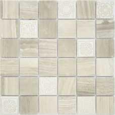 Мозаика из натурального камня Art Stone Travertino silver