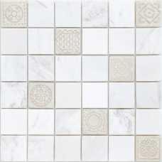 Мозаика из натурального камня Art Stone Dolomiti bianco