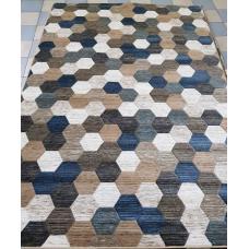Ковер Merinos Matrix D579 BEIGE-BLUE 2,00*2,90