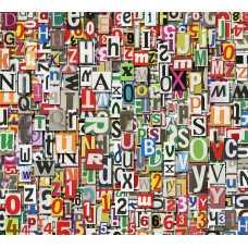 Буквы и цифры Б1-022, 300*270 см