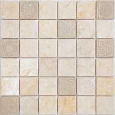 Мозаика из натурального камня Art Stone Botticino