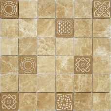 Мозаика из натурального камня Art Stone Emperador light