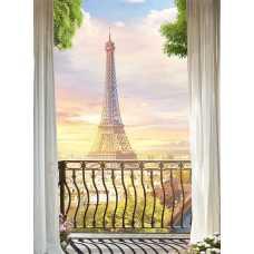 Парижское утро H-014, 200х270