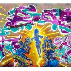 Граффити дэнс Б1-023, 300*270 см