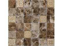 Мозаика из натурального камня Art Stone Emperador dark