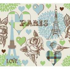 Париж принт Б1-026, 300*270 см