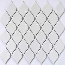 Мозаика керамическая Melany White glossy