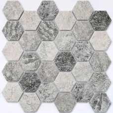 Мозаика керамическая Olmeto Grey