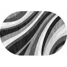 Ковер Merinos Silver d234 gray овал 0,60*1,10
