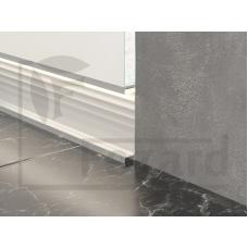 Плинтус встраиваемый алюминиевый с led подсветкой ALP-G80