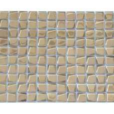 Мозаика стеклянная Alchimia Aureo trapezio 20*20*6