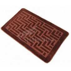 Коврик для ванной Shahintex PP 50*80 коричневый 34