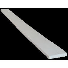 Доска модерн фасадная 120*20мм Белая, длина 2м