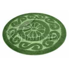 Коврик для ванной Shahintex PP Lux зеленый 52 (100*100) см
