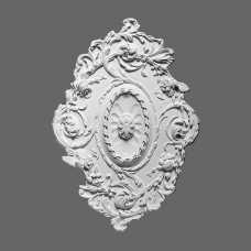 Потолочная розетка из полиуретана R22