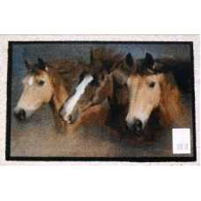 Коврик придверный Deco-UP Лошади (50*75 см)